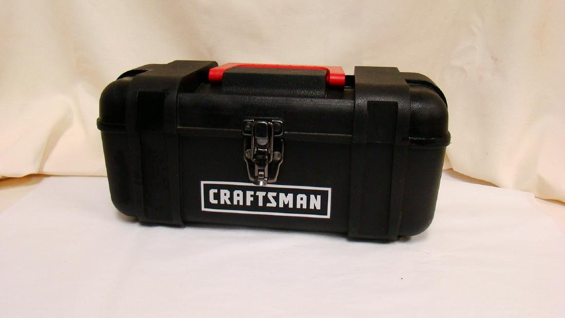 CRAFTSMAN TOOL BOX WITH CONTENTS - 5