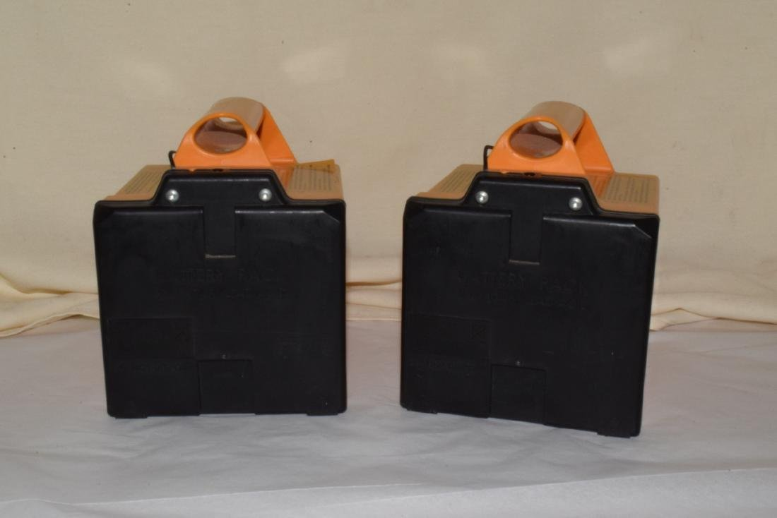 2 RECHARGEABLE LAWN MOWER BATTERIES