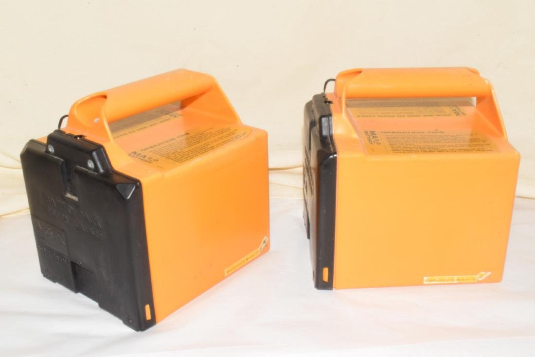 2 RECHARGEABLE LAWN MOWER BATTERIES - 3
