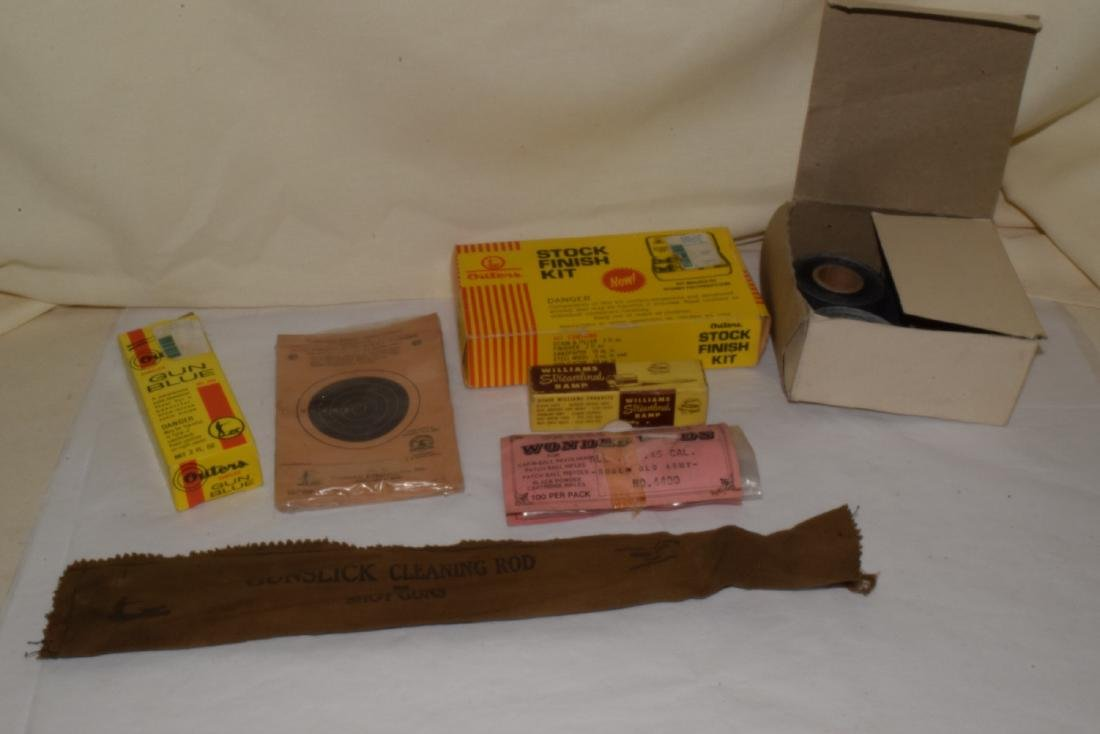 GUN CLEANING ACCESSORIES & MORE