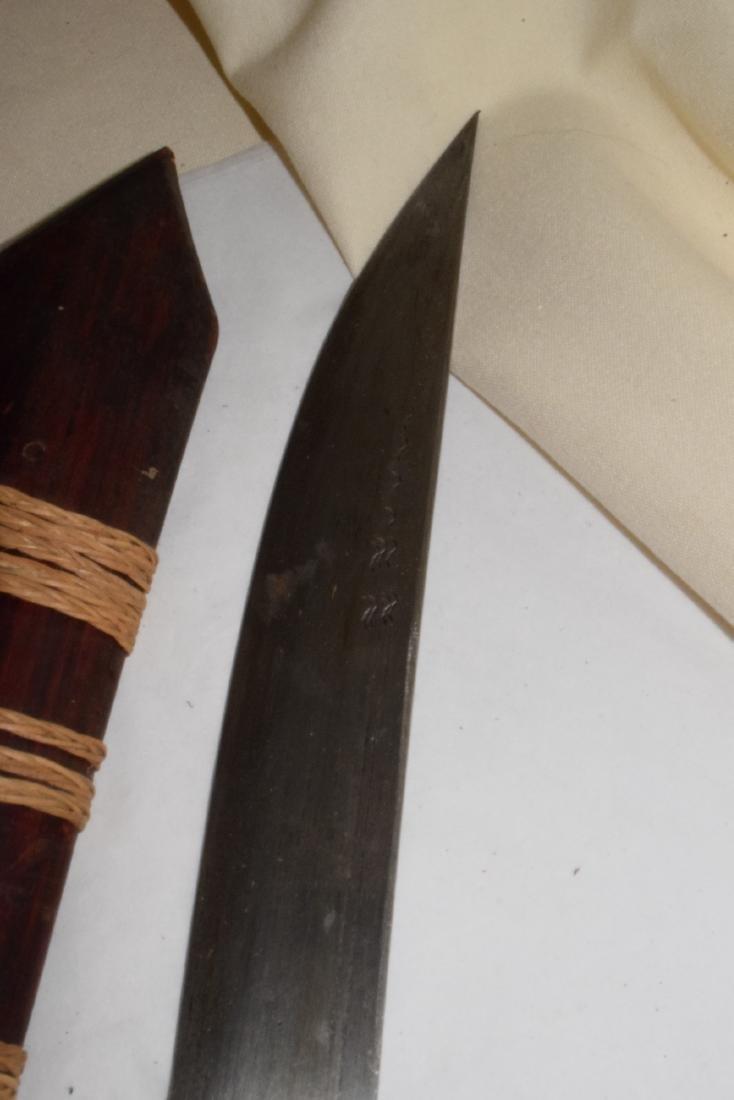 KATANA STYLE JAPANESE SWORD & SCABBARD - 3
