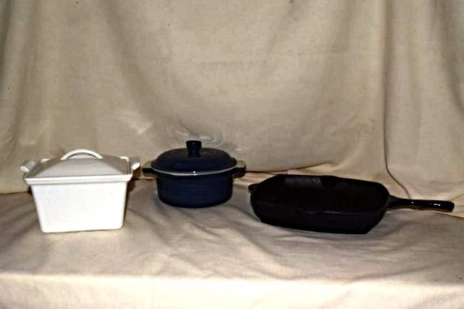 3 LE CREUSET COOKING WARE