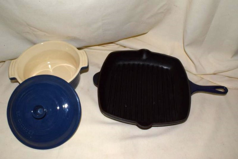 3 LE CREUSET COOKING WARE - 3