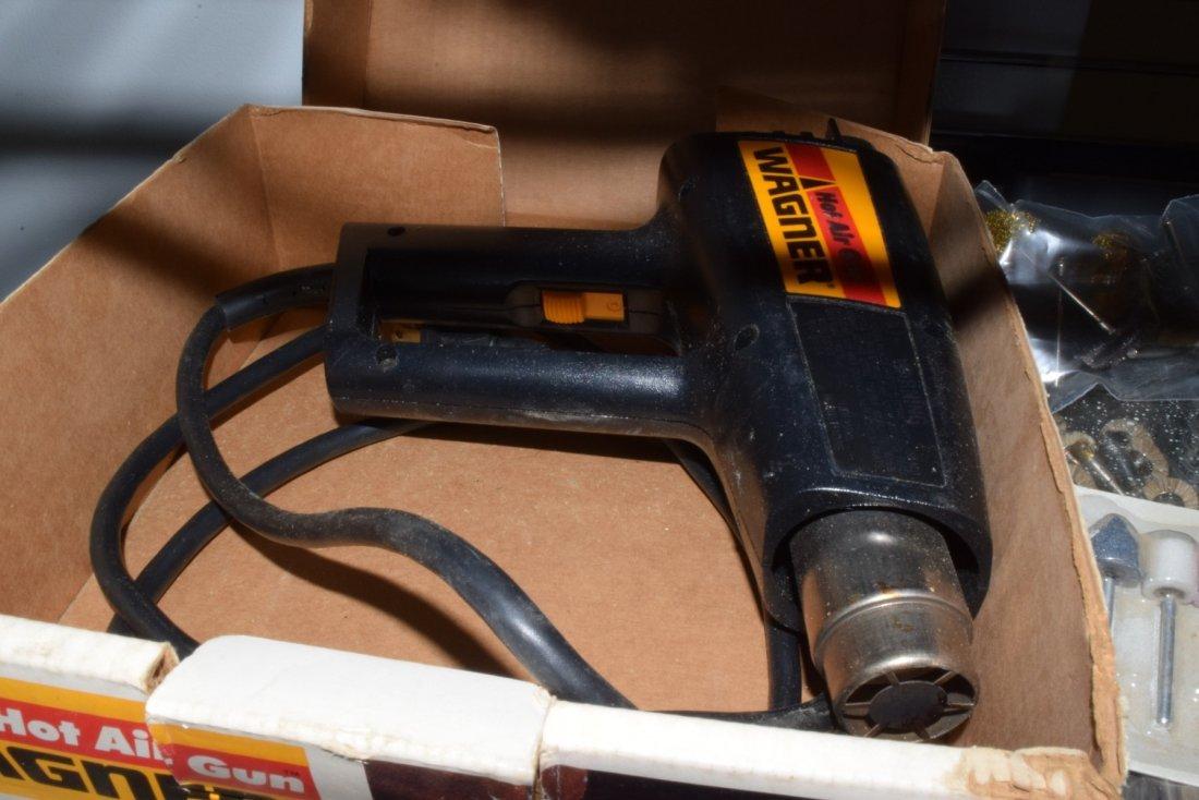 WAGNER HOT AIR GUN & SANDER BITS - 3