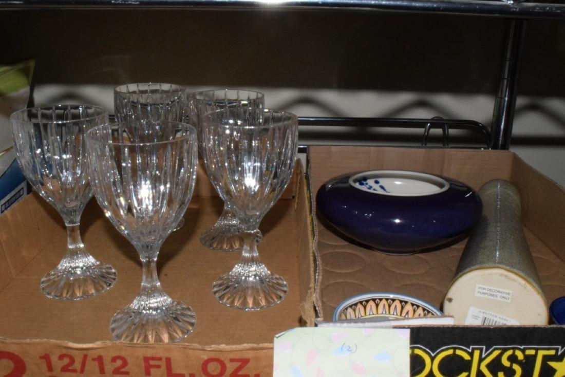 CRYSTAL WINE GLASSES & MORE