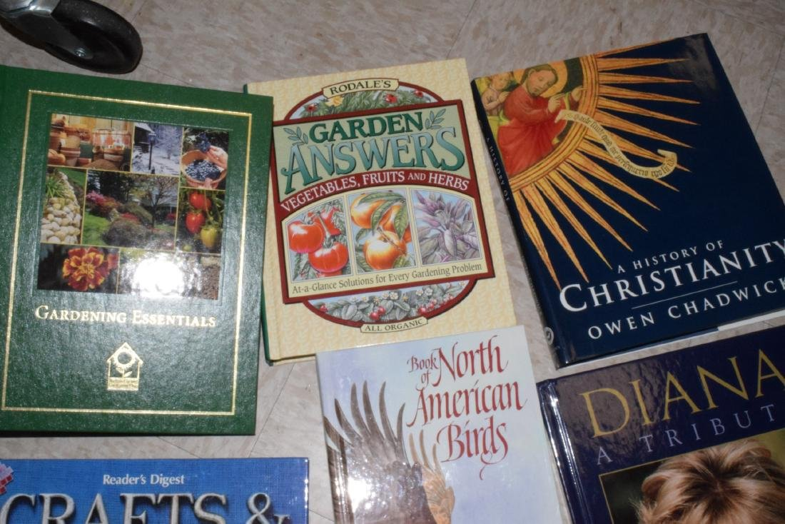 VARIOUS HARDCOVER BOOKS - 2
