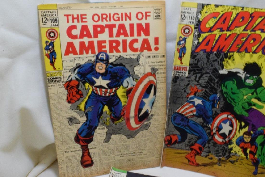 1969 CAPTAIN AMERICA COMIC BOOKS - 2
