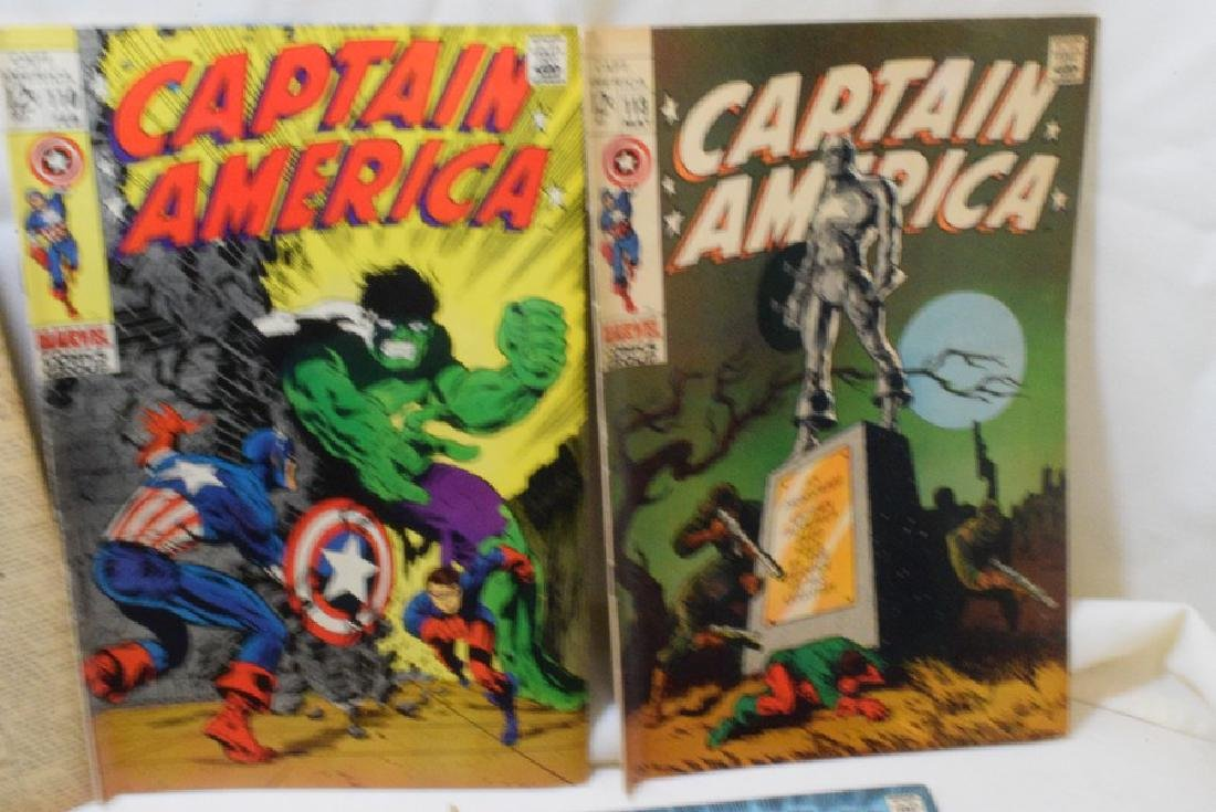 1969 CAPTAIN AMERICA COMIC BOOKS - 3