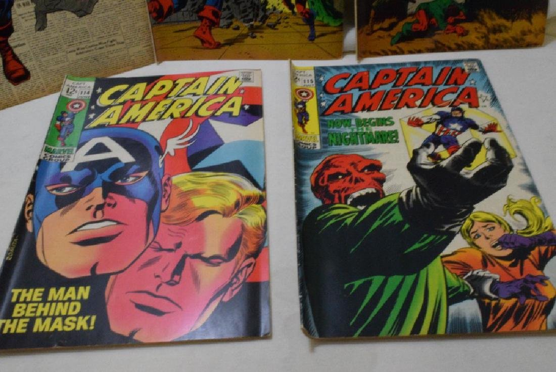 1969 CAPTAIN AMERICA COMIC BOOKS - 4