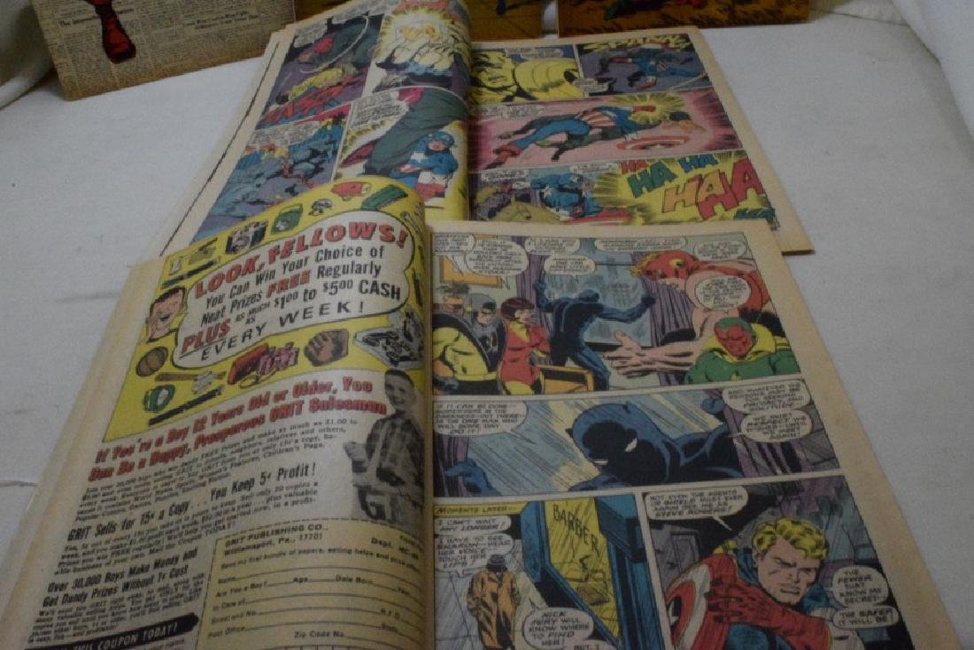 1969 CAPTAIN AMERICA COMIC BOOKS - 5