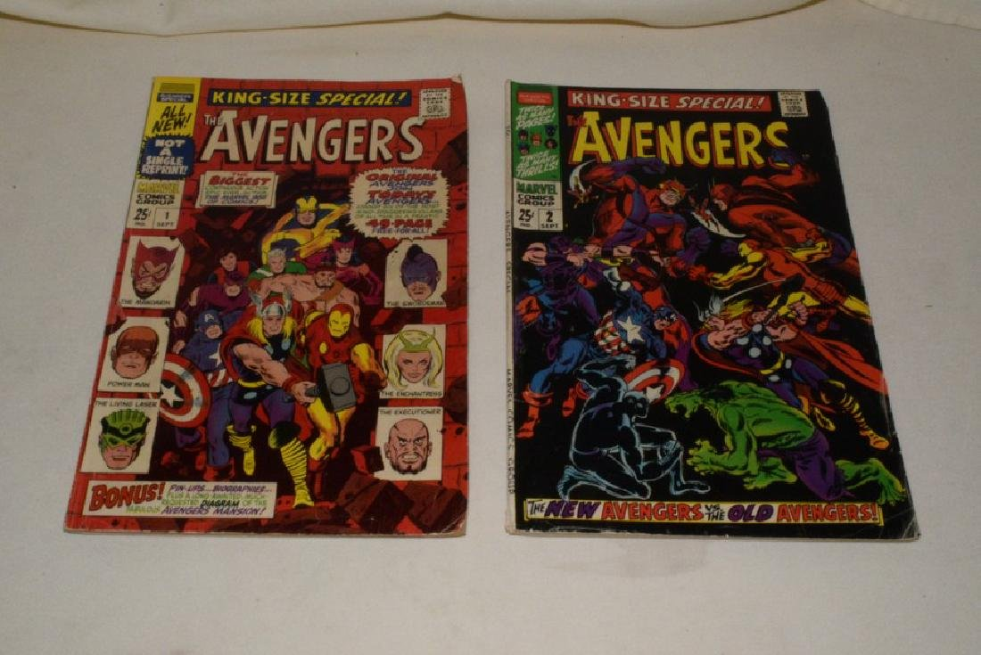 THE MIGHTY AVENGERS ANNUALS 1 & 2