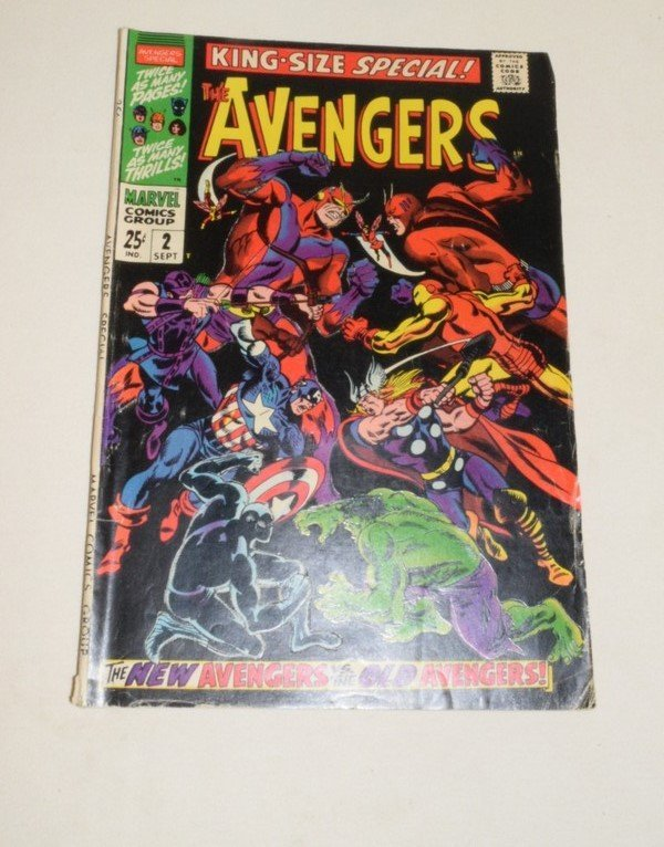 THE MIGHTY AVENGERS ANNUALS 1 & 2 - 5