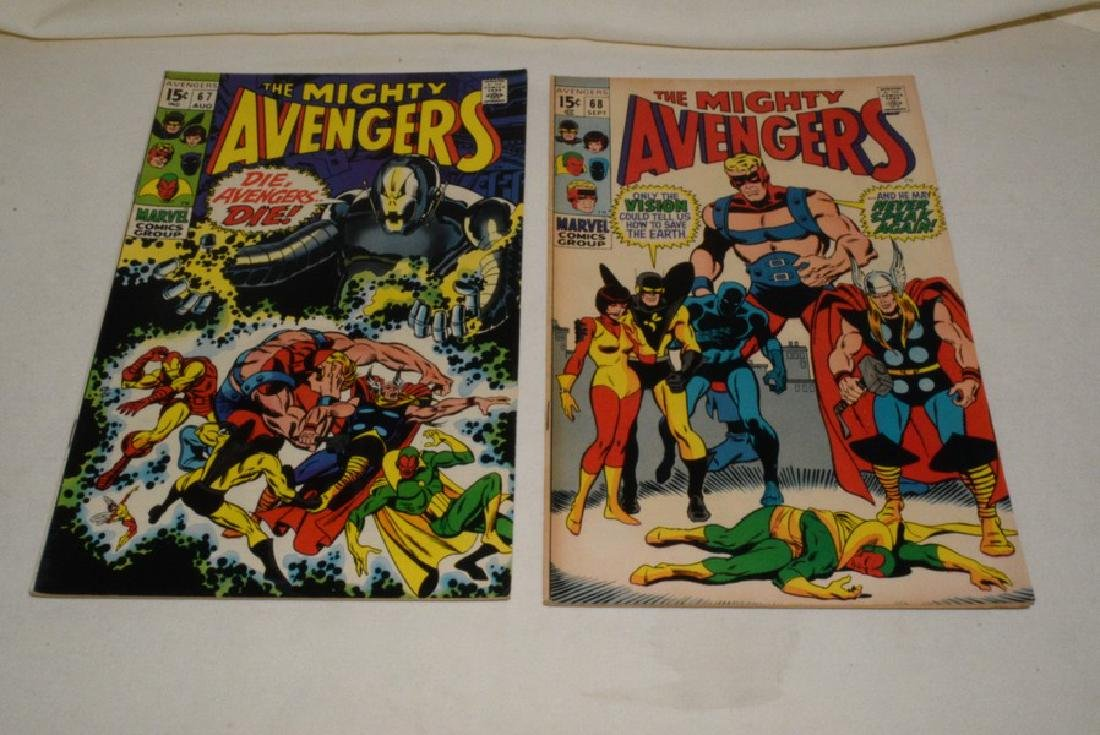 MARVEL COMIC THE AVENGERS & THE MIGHTY AVENGERS - 5