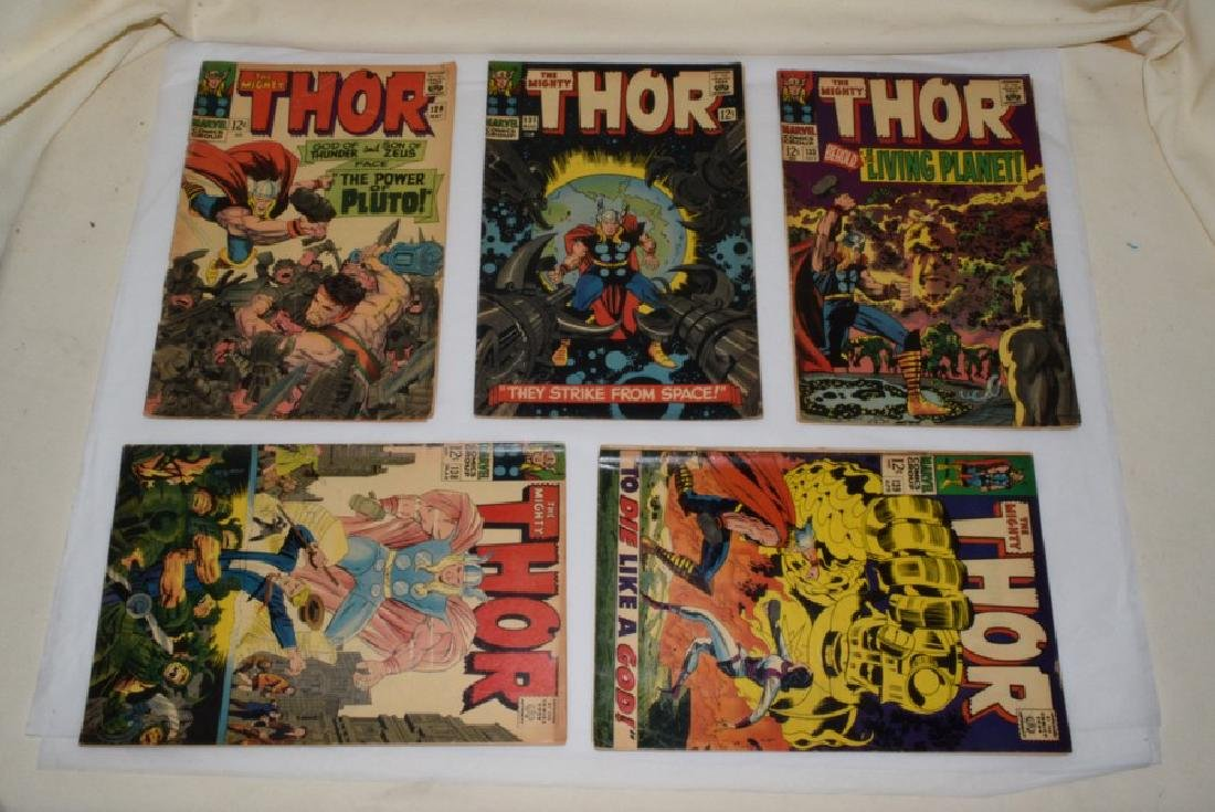 1966-67 THE MIGHTY THOR COMIC BOOKS - 2