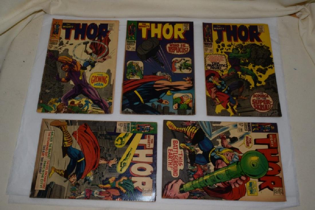 1966-67 THE MIGHTY THOR COMIC BOOKS - 4