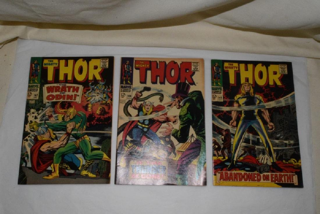1966-67 THE MIGHTY THOR COMIC BOOKS - 6