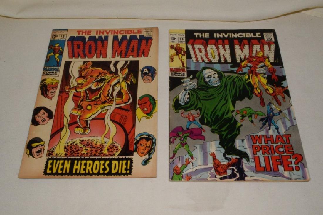 MARVEL COMICS THE INVINCIBLE IRON MAN - 9