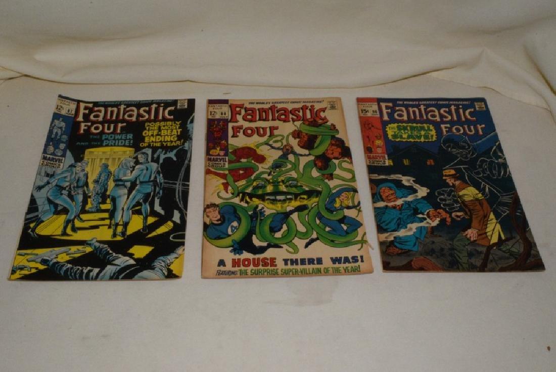 1969 MARVEL COMICS FANTASTIC FOUR - 4
