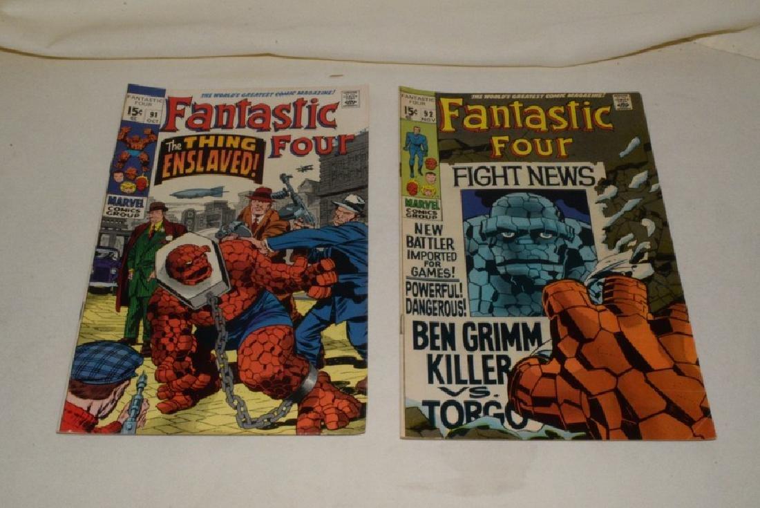 1969 MARVEL COMICS FANTASTIC FOUR - 6