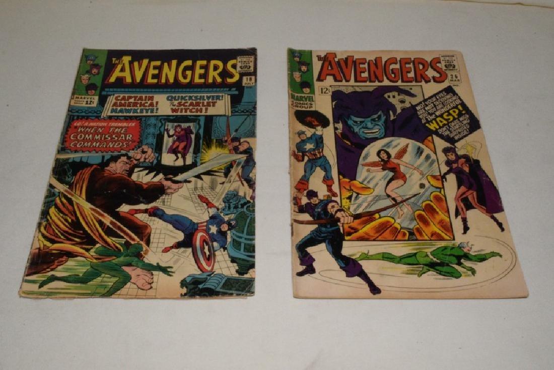 MARVEL COMICS THE AVENGERS; 7 ISSUES - 2
