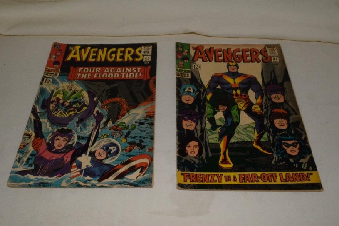 MARVEL COMICS THE AVENGERS; 7 ISSUES - 4