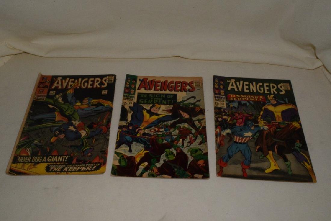 MARVEL COMICS THE AVENGERS; 7 ISSUES - 6