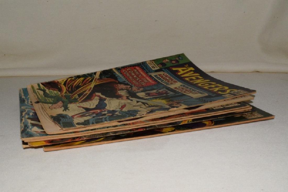 MARVEL COMICS THE AVENGERS; 7 ISSUES - 9