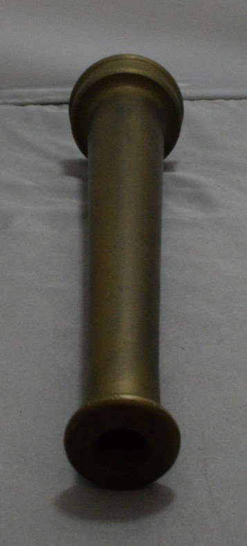 "10"" BRASS FIRE HOSE NOZZLE - NO MARKS - 4"