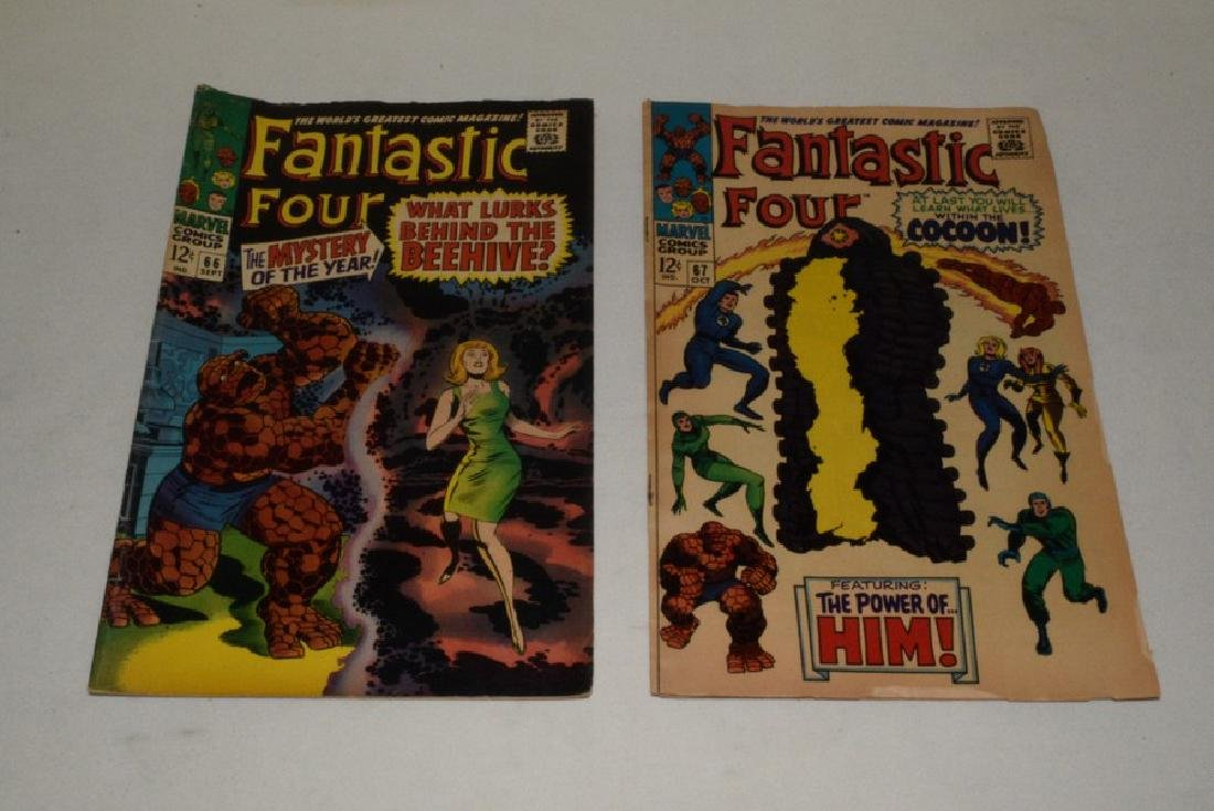 MARVEL COMICS 1967 FANTASTIC FOUR 66 & 67