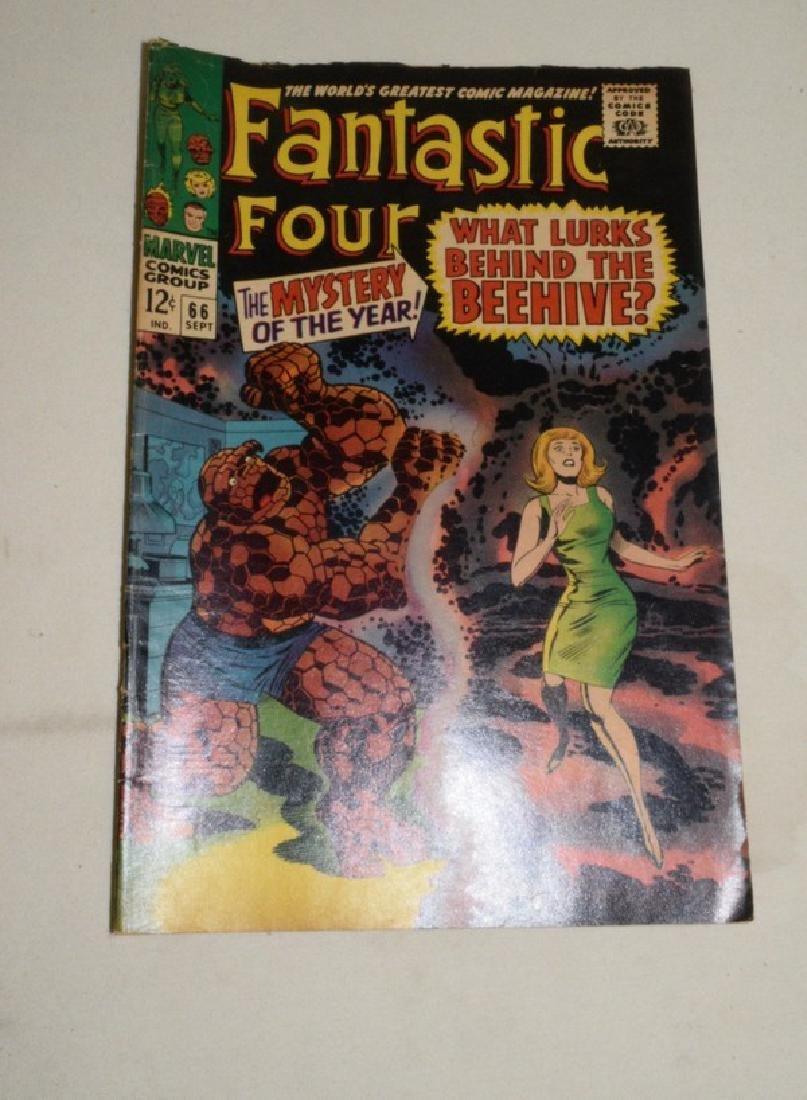 MARVEL COMICS 1967 FANTASTIC FOUR 66 & 67 - 2