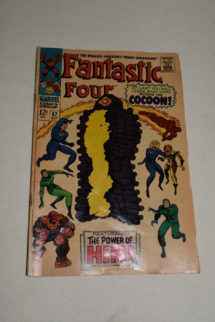 MARVEL COMICS 1967 FANTASTIC FOUR 66 & 67 - 7