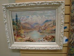 ORIGINAL PAINTINGS BY C. WAALE - 3 OIL; 1 WATER CO - 5
