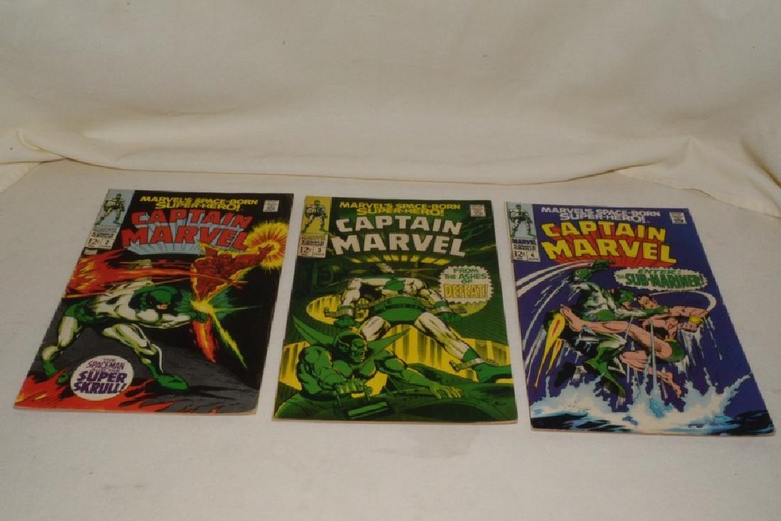 1968 ISSUES 2-8 MARVEL COMICS CAPTAIN MARVEL - 2