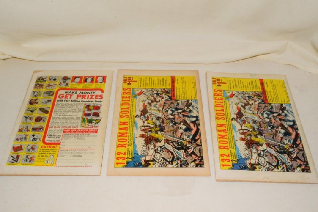1968 ISSUES 2-8 MARVEL COMICS CAPTAIN MARVEL - 3