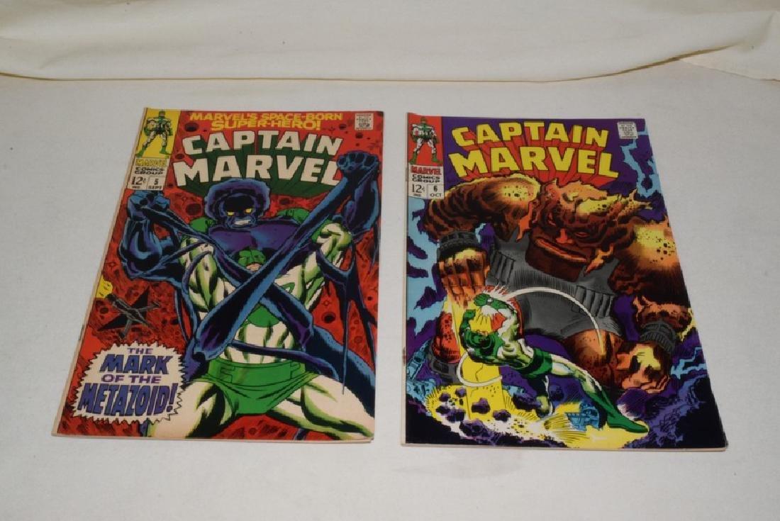 1968 ISSUES 2-8 MARVEL COMICS CAPTAIN MARVEL - 4