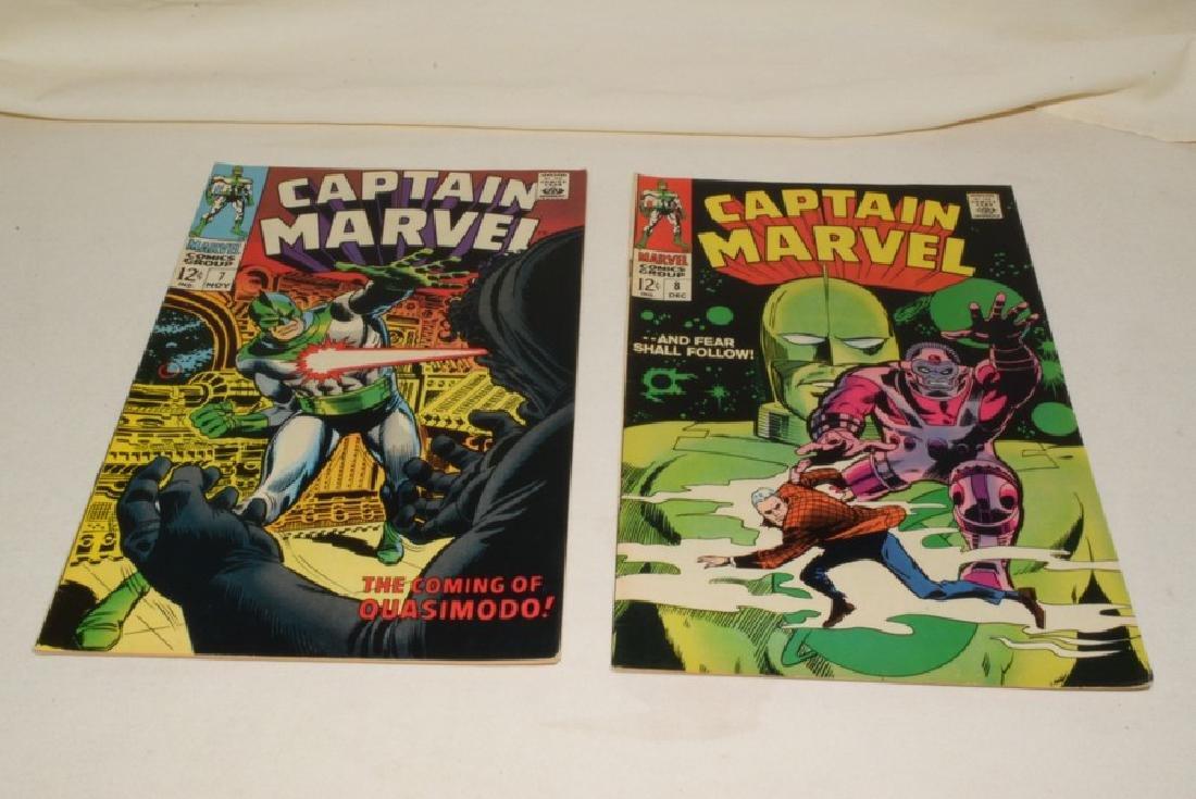 1968 ISSUES 2-8 MARVEL COMICS CAPTAIN MARVEL - 6