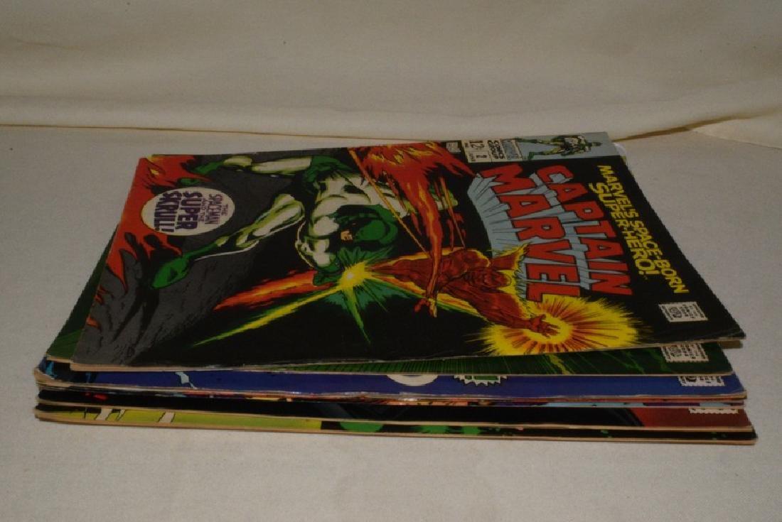 1968 ISSUES 2-8 MARVEL COMICS CAPTAIN MARVEL - 8