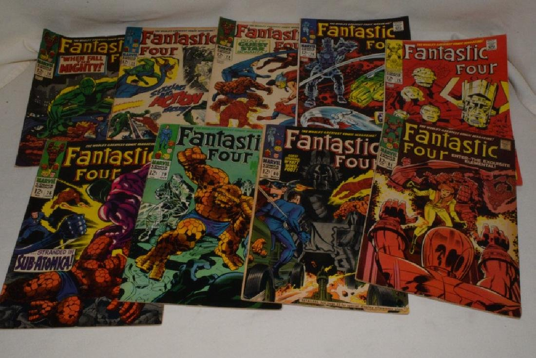 1968 MARVEL COMICS FANTASTIC FOUR ISSUES
