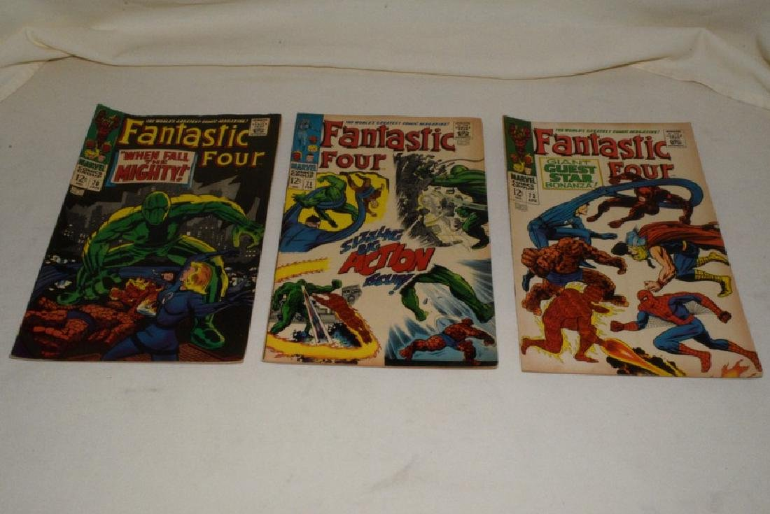 1968 MARVEL COMICS FANTASTIC FOUR ISSUES - 2