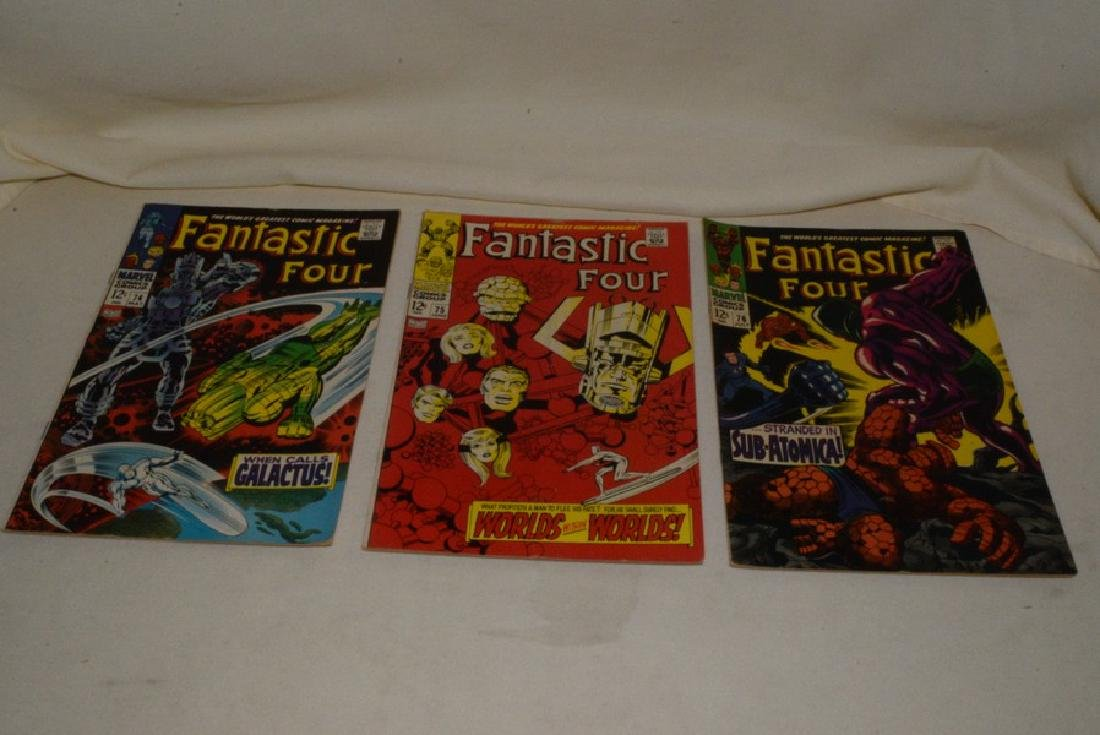 1968 MARVEL COMICS FANTASTIC FOUR ISSUES - 4