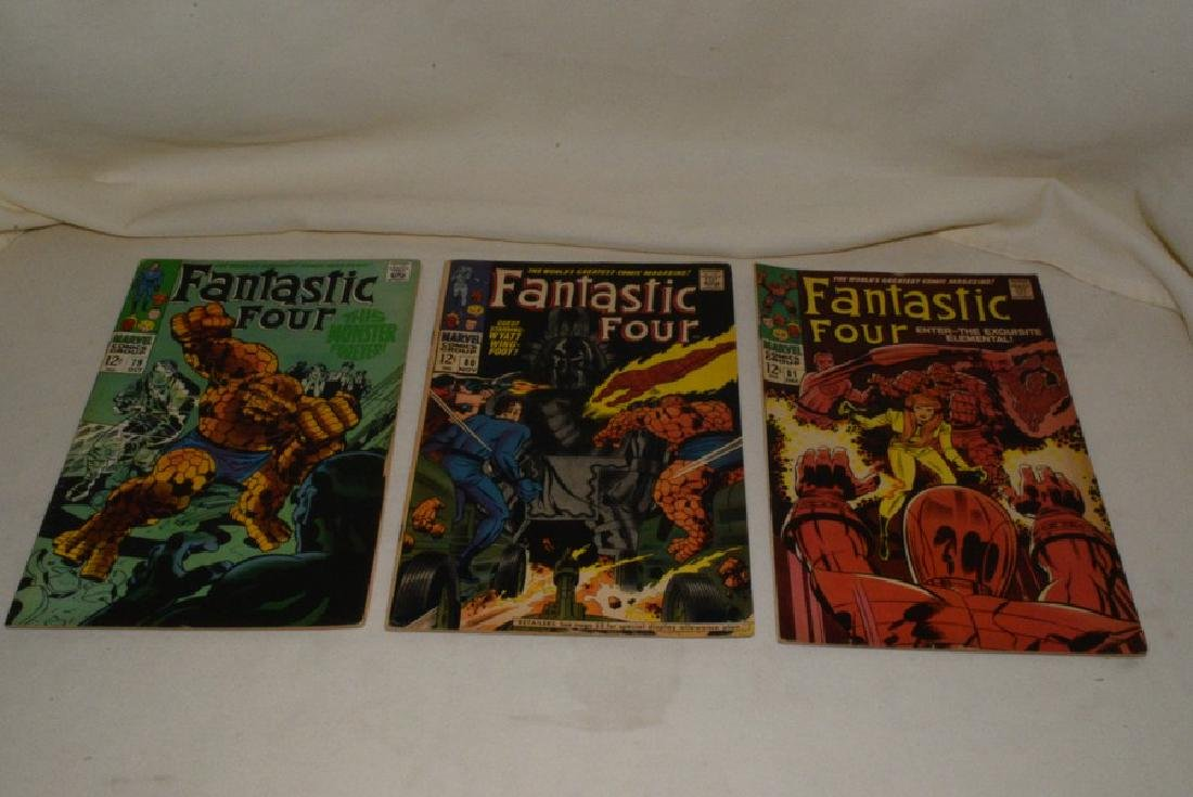 1968 MARVEL COMICS FANTASTIC FOUR ISSUES - 6