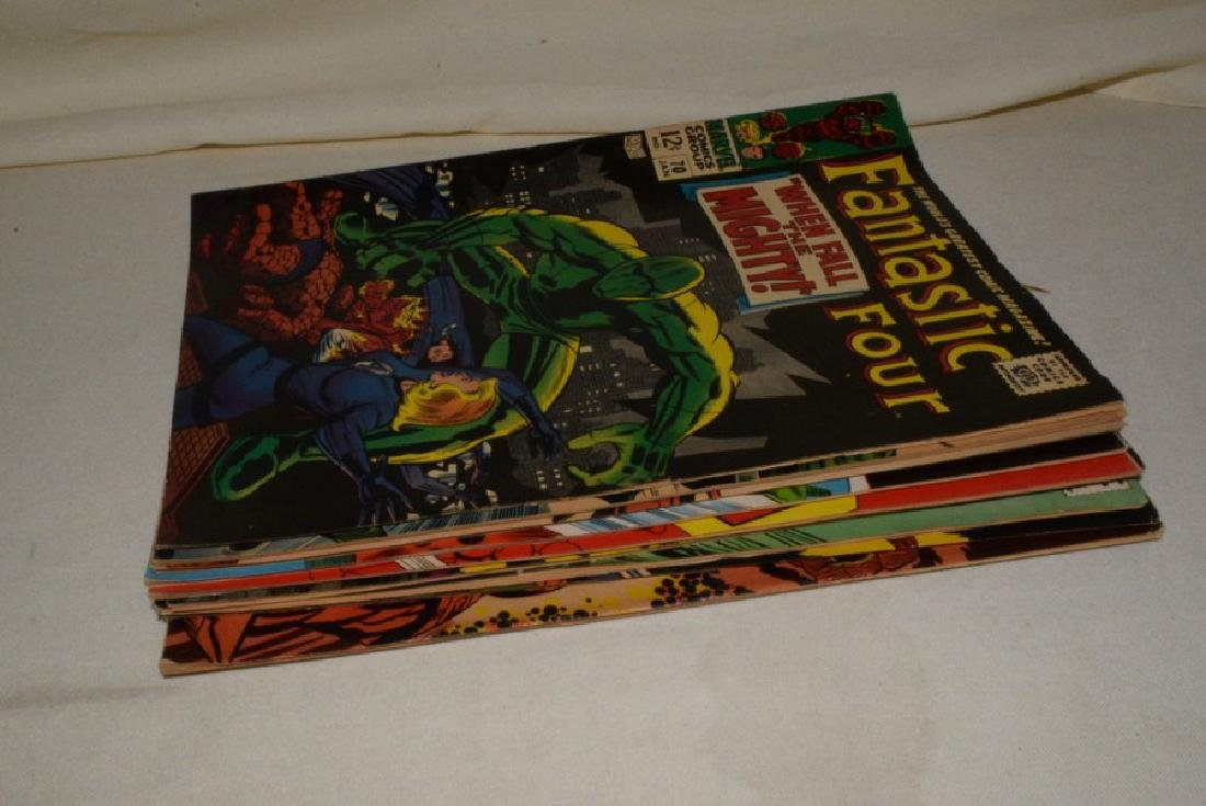 1968 MARVEL COMICS FANTASTIC FOUR ISSUES - 8