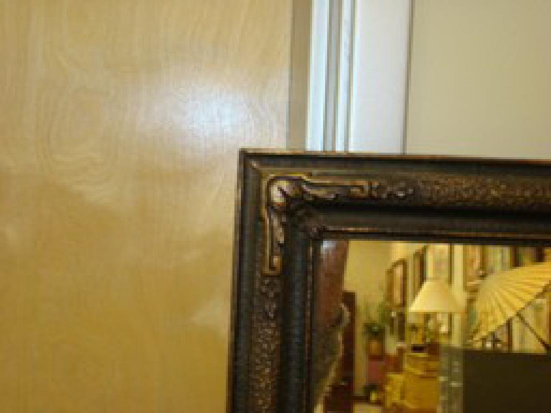ANTIQUE FRAMED MIRROR - 3