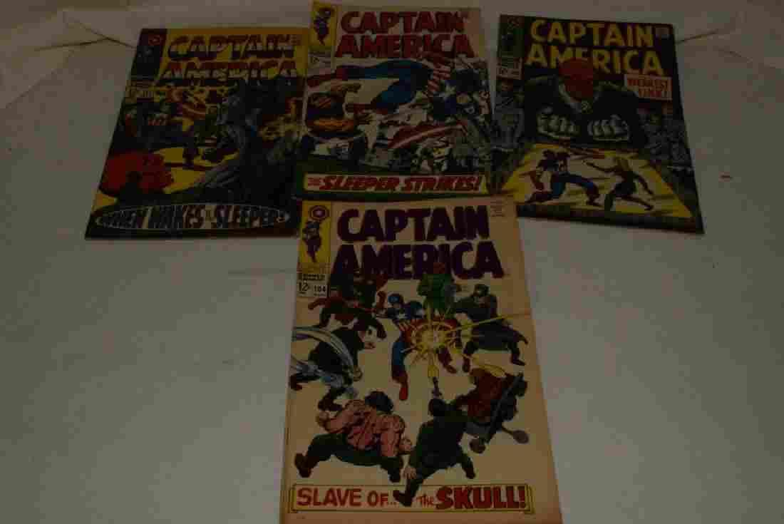 1968 CAPTAIN AMERICA MARVEL COMICS