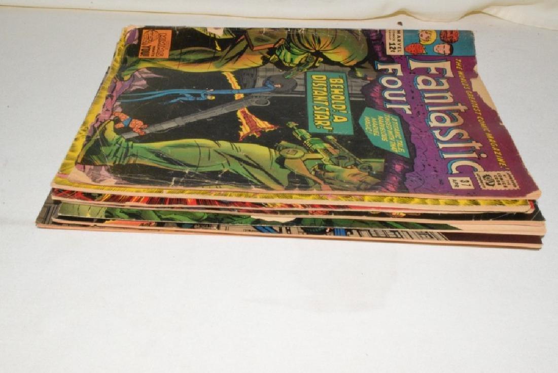 9 ISSUES MARVEL COMICS FANTASTIC FOUR - 10