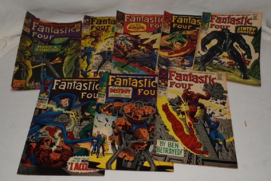 9 ISSUES MARVEL COMICS FANTASTIC FOUR