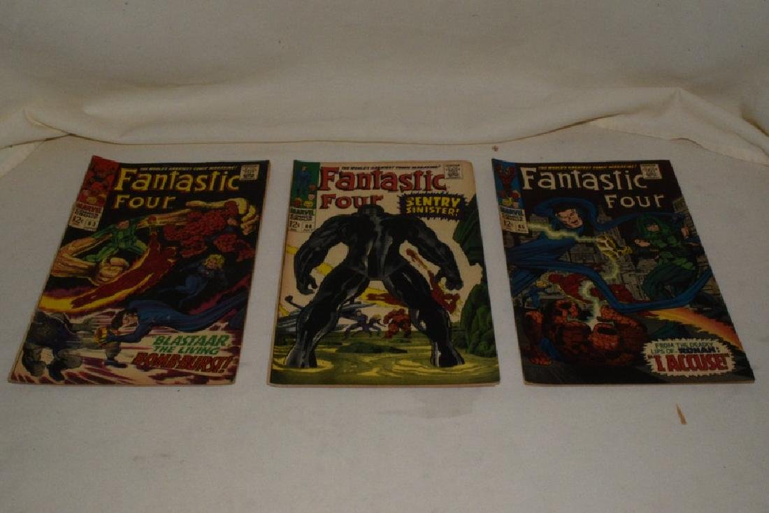 9 ISSUES MARVEL COMICS FANTASTIC FOUR - 5