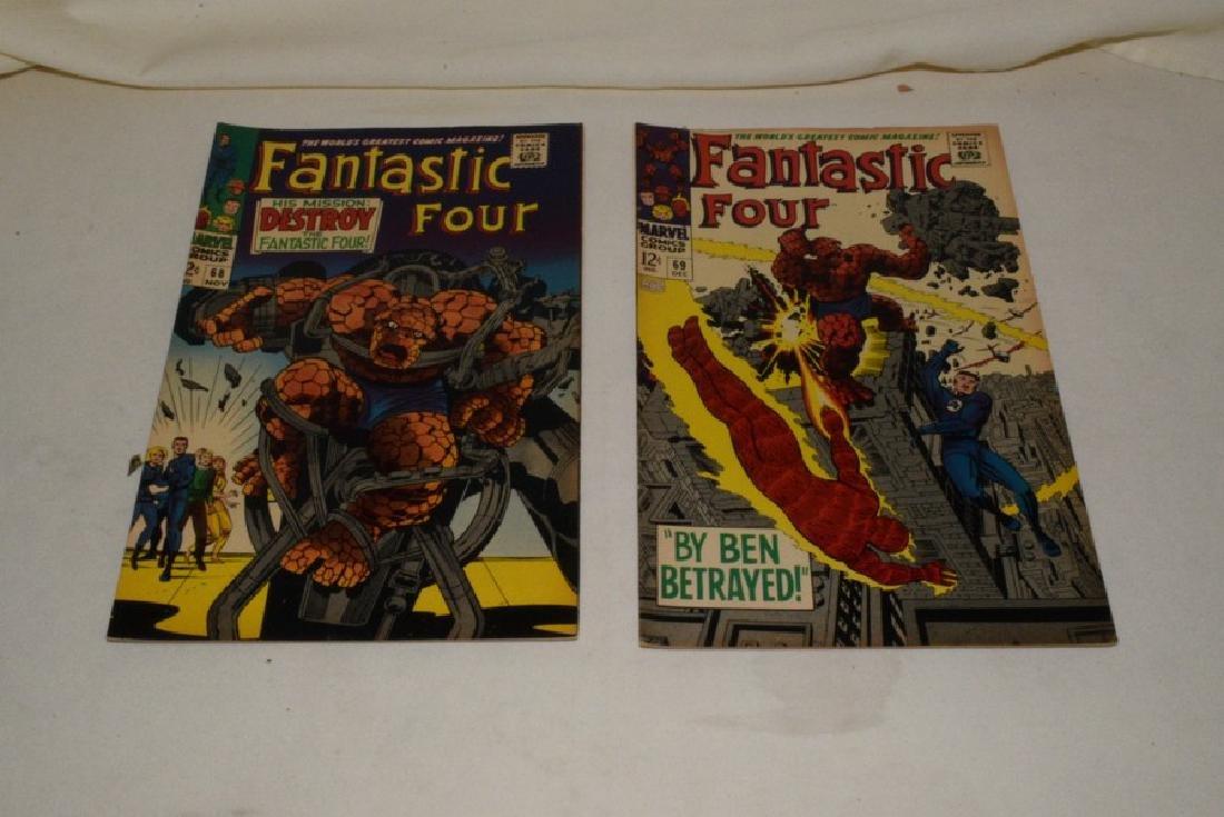 9 ISSUES MARVEL COMICS FANTASTIC FOUR - 7