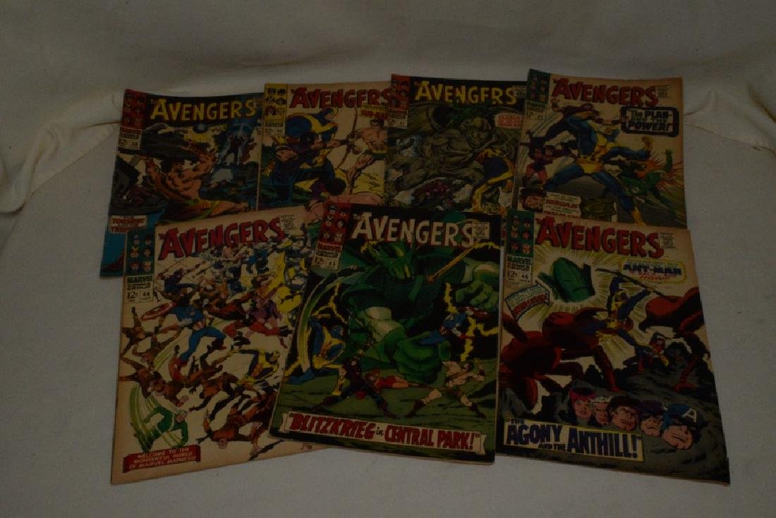 THE AVENGERS COMIC BOOKS BY MARVEL