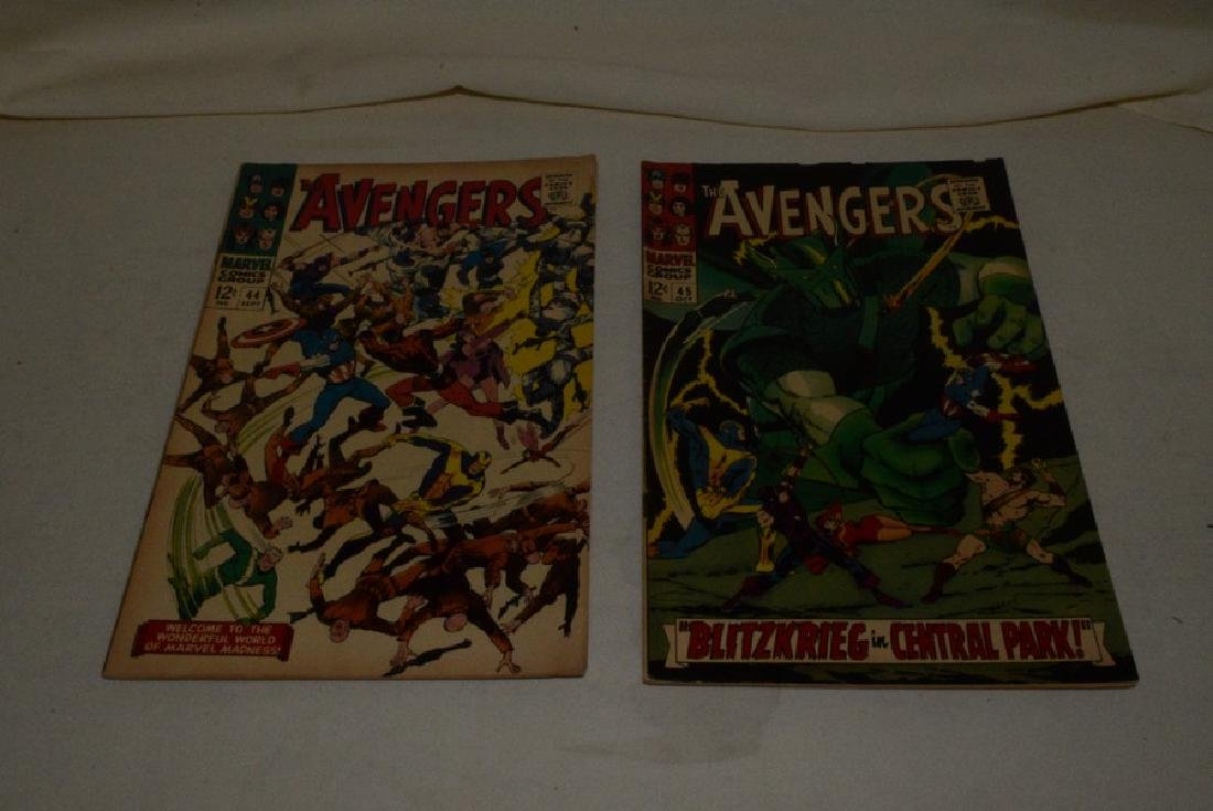 THE AVENGERS COMIC BOOKS BY MARVEL - 4